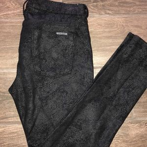 "Hudson ""Nico Midrise Super Skinny"" Black pants"